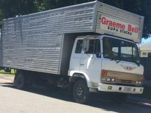 The Hino truck