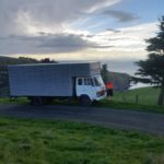 Graeme Bell Removals will travel to out of the way places in the Canterbury region -- Decanter Bay, Banks Peninsula